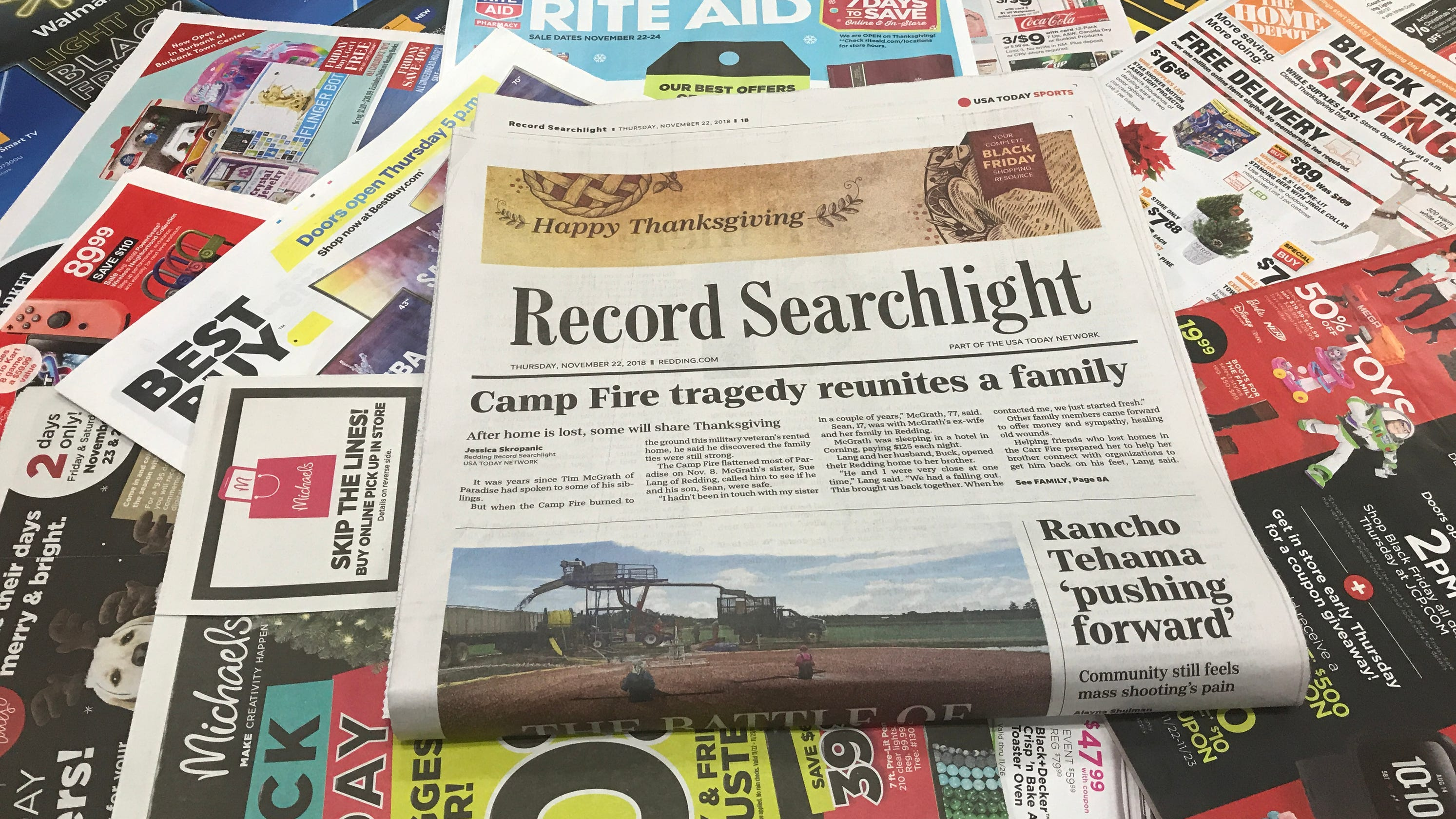 9204821eba7 Black Friday ads: Get the Record Searchlight Thanksgiving issue today
