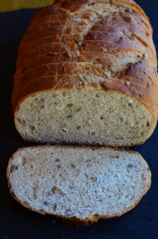 The Sunflower Seed Bread at The Artisan's Oven is good toasted and also makes  a nice accompaniment to soft cheeses.