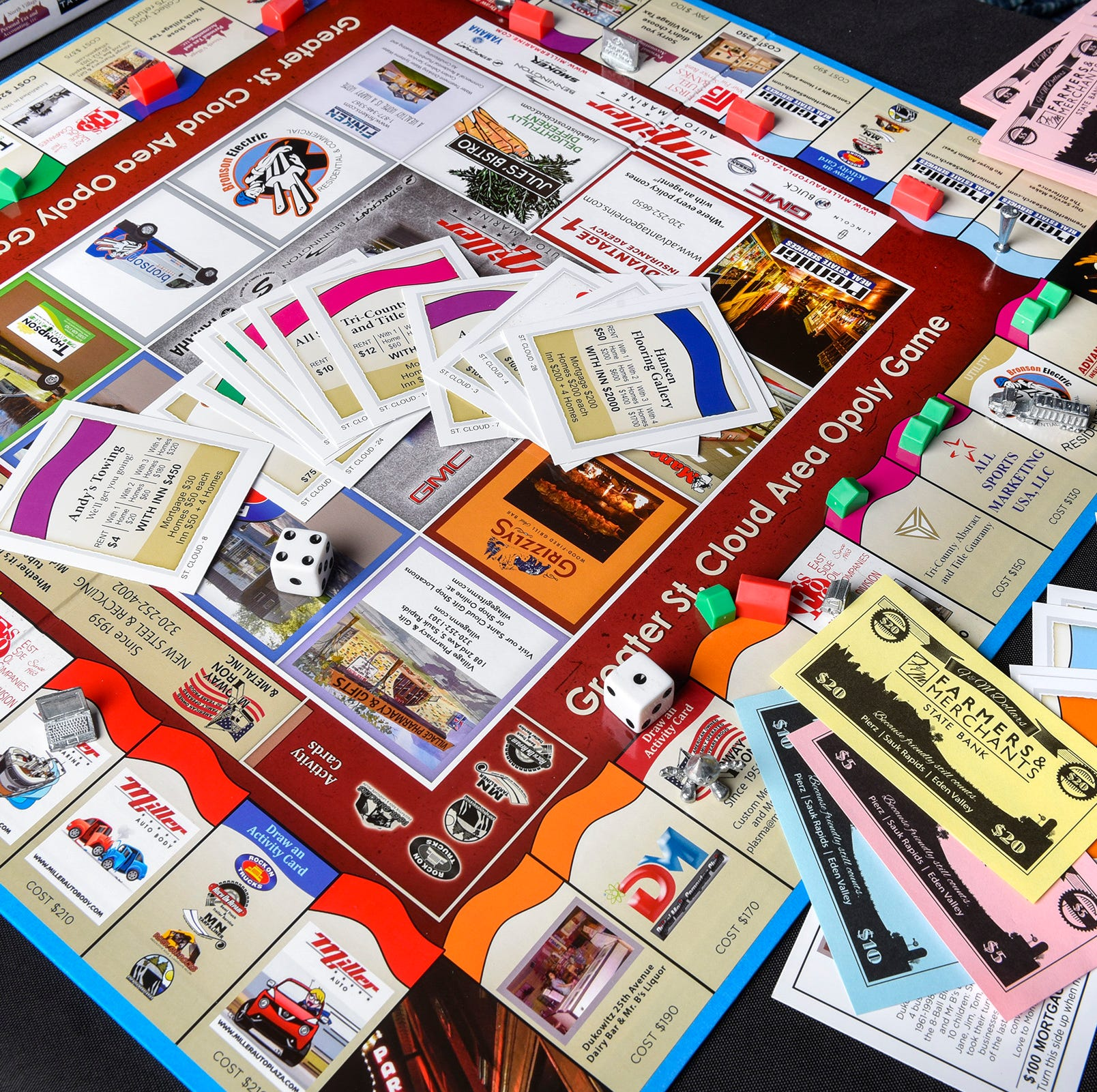 'Greater St. Cloud Area Opoly' gives players a chance to buy up local businesses