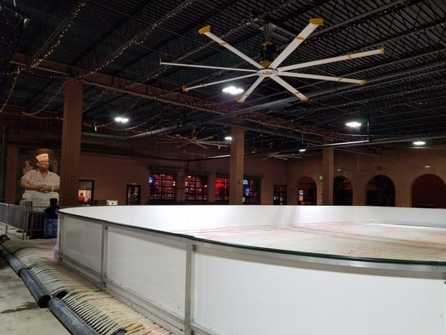 Back by popular demand, ice skating returns Friday to the Centre of Tallahassee mall.