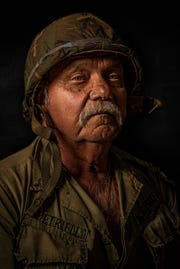 John Petriello is featured in the Vietnam Veteran Portrait Project opening Dec. 1