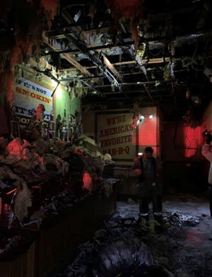 A fire at the Timberlane Road Sonny's Bar-B-Q location caused $200,000 in damage while the restaurant was still open.