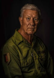 Photographer Mike Wewerka's father, Tom Wewerka, was the inspiration for the Vietnam Veteran Portrait Project.
