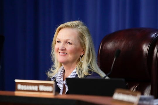 Leon County School Board Chair DeeDee Rasmussen.