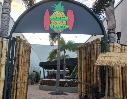 Ono Luau is at  2045 13th Avenue in Vero Beach.