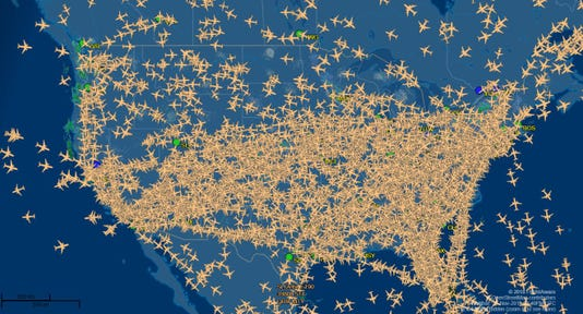 Flight Pattern Map