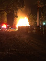 A fire at Golf N' Stuff in Ventura was being investigated as possible arson.