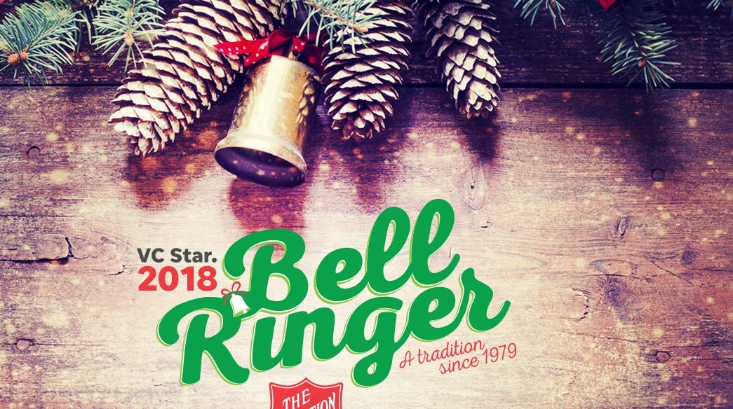 The 2018 Bellringer program is collecting donations for the Salvation Army through Christmas.