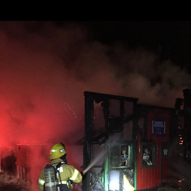 Fire at Golf N' Stuff in Ventura being investigated as possible arson