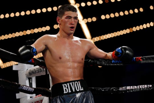 Dmitry Bivol, of Russia, is a light heavyweight champion and he'll finally be an HBO headliner on Saturday night.