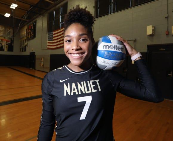 Nanuet's Kayla Diaz, Journal News/lohud Rockland girls volleyball Player of the Year Nov. 21, 2018.