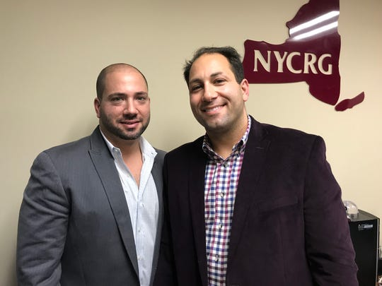 From left, Frank Rao and Michael Rao with New York Commercial Realty Group. The brothers handle a majority of Westchester's industrial real estate.