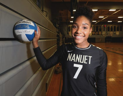 Nanuet's Kayla Diaz, Journal News/lohud Rockland girls volleyball Player of the Year Nov. 21, 2018.