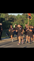 Joe Ryan leads the 2nd Brigade Combat Team during All-American Week at Fort Bragg in North Carolina in May 2016.