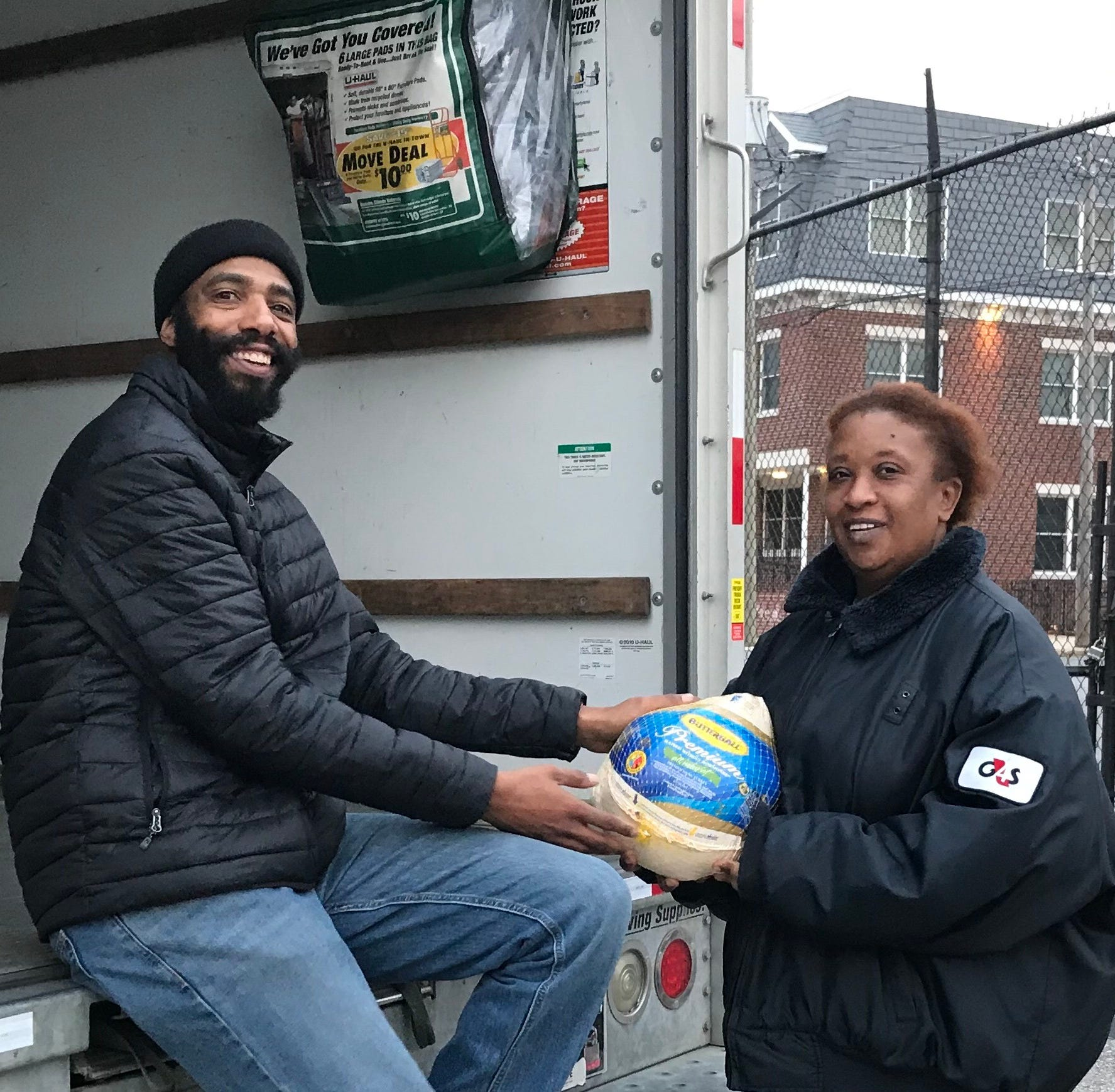 Wilmington police force relocation of turkey giveaway