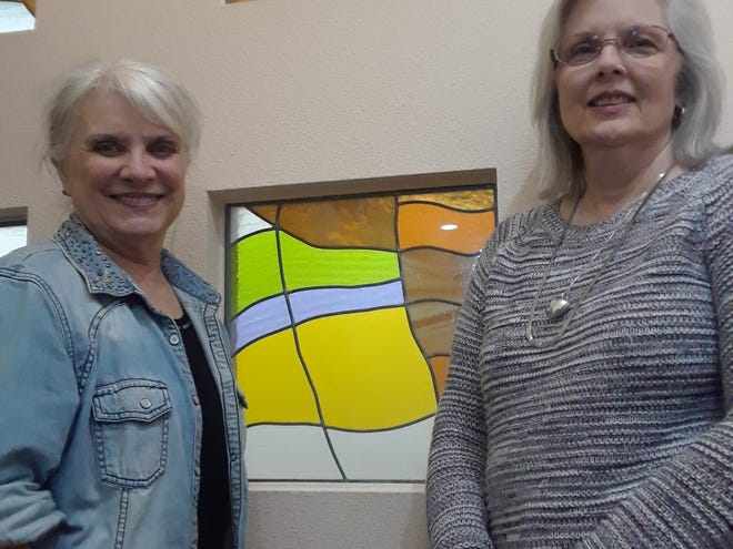Winners in the November Mystical Poetry Contest by members of the Wichita Falls Poetry include: Rosellen Sheetz, first place, and Sheri Sutton, third place. Not pictured: Linda Smith, second place)