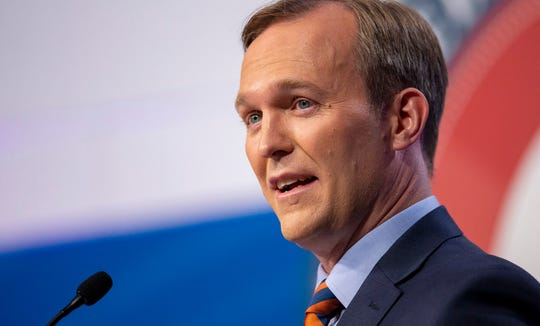 Salt Lake County Mayor Ben McAdams, a Democrat, unseated Republican U.S. Rep. Mia Love in Utah's 4th Congressional District.