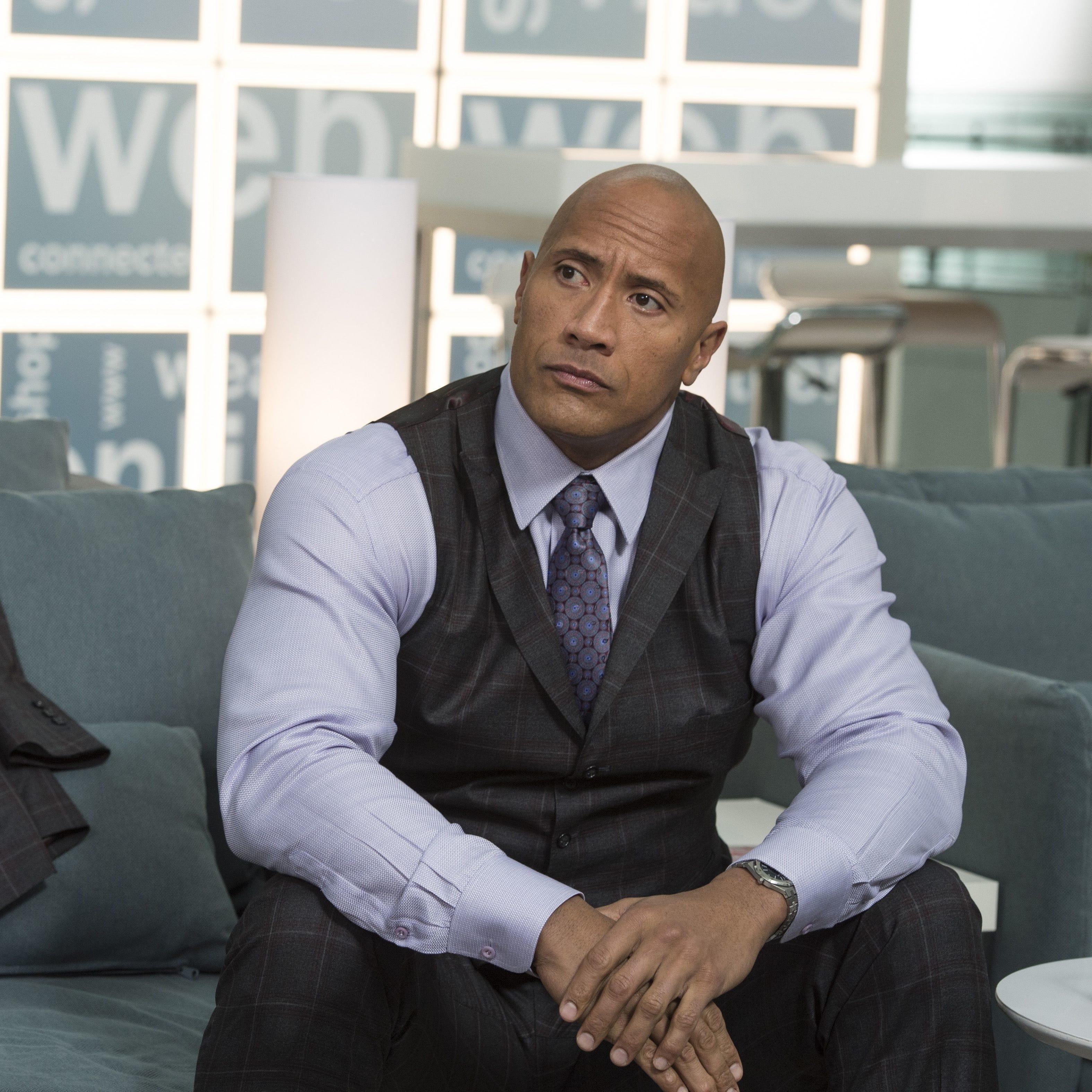 Dwayne Johnson as Spencer in 'Ballers.'