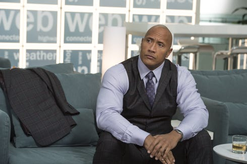 Dwayne Johnson as Spencer in 'Ballers.'