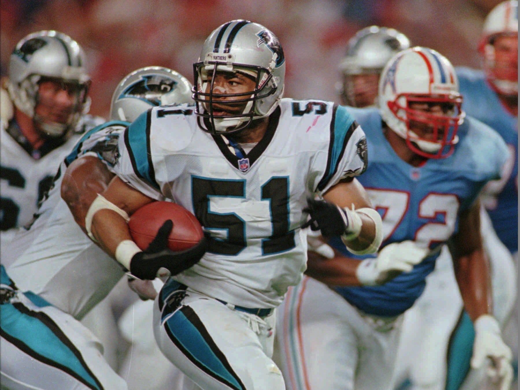Sam Mills, LB – 1986-1994 New Orleans Saints, 1995-97 Carolina Panthers