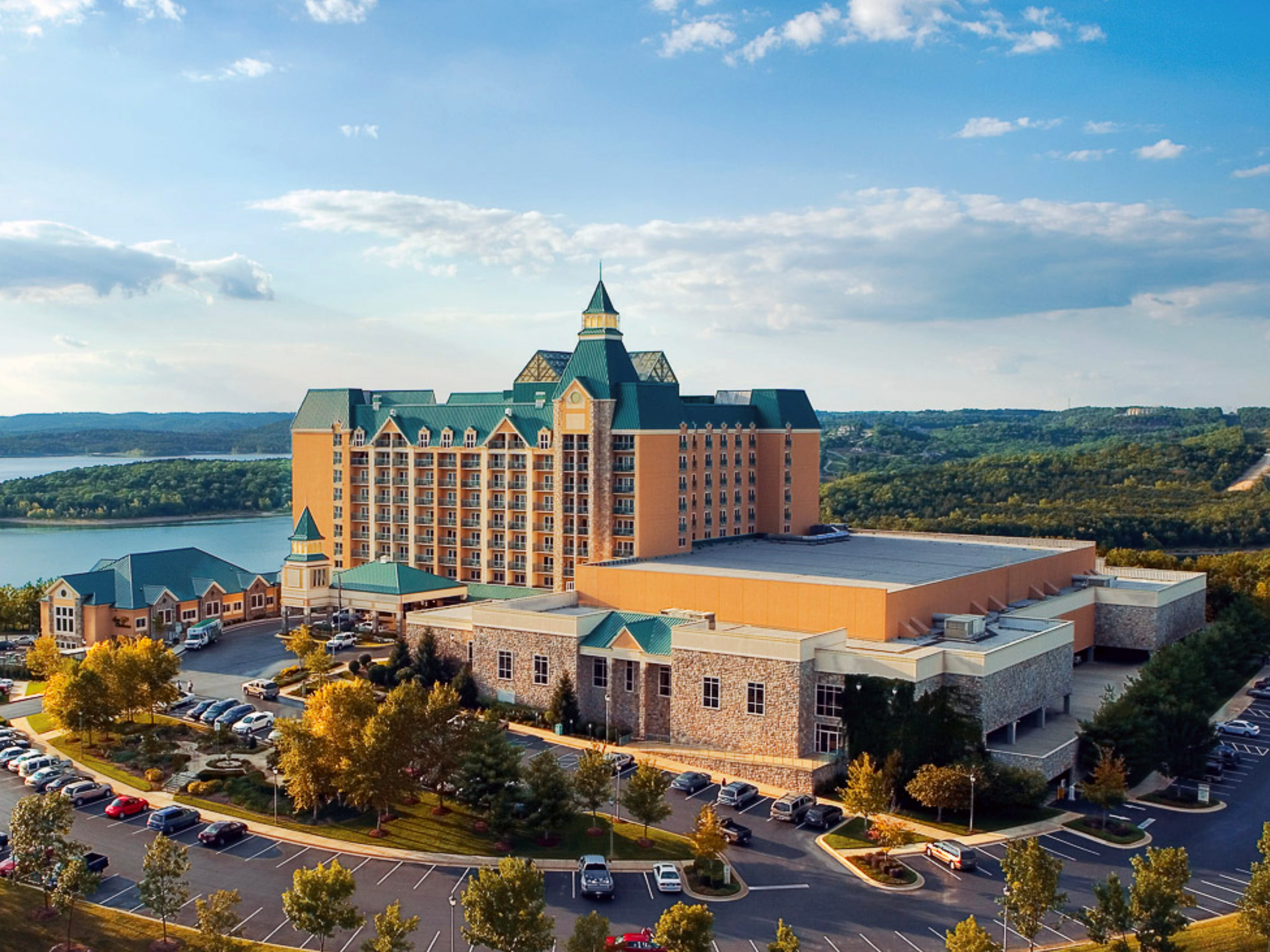 The Chateau on the Lake resort in Branson, Missouri.