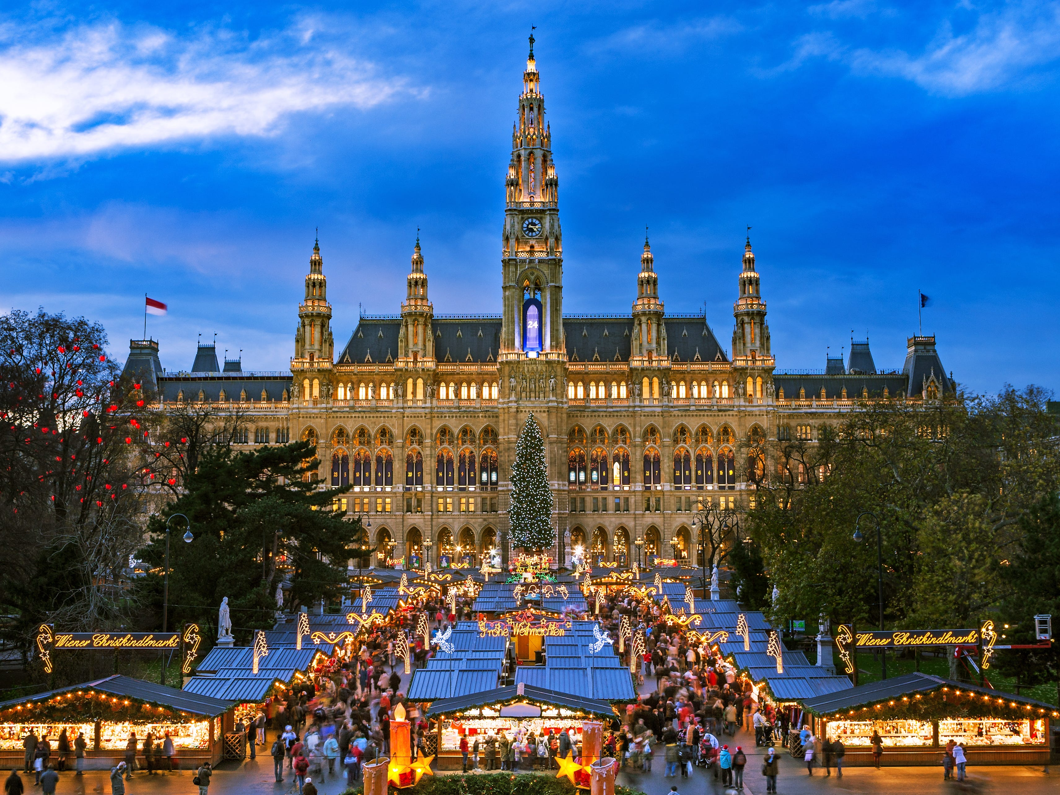Austria: With round-trip flights from Boston, Chicago and Baltimore to Vienna at near-historic lows — like $500 low, as found on Airfarewatchdog — this popular skiing country in Europe makes for a great affordable winter vacation this year. The country embraces cold weather with famous Christmas markets, ice skating rinks, roasted chestnut and potato wedge stalls, mulled wine, and the best opera season.