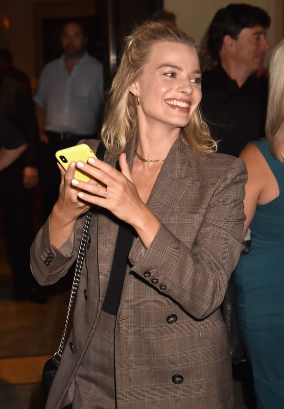 Margot Robbie burns her yams, just like the rest of us.