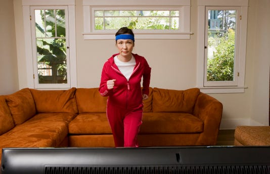 Redefine what it means to be a couch potato with at-home habits.
