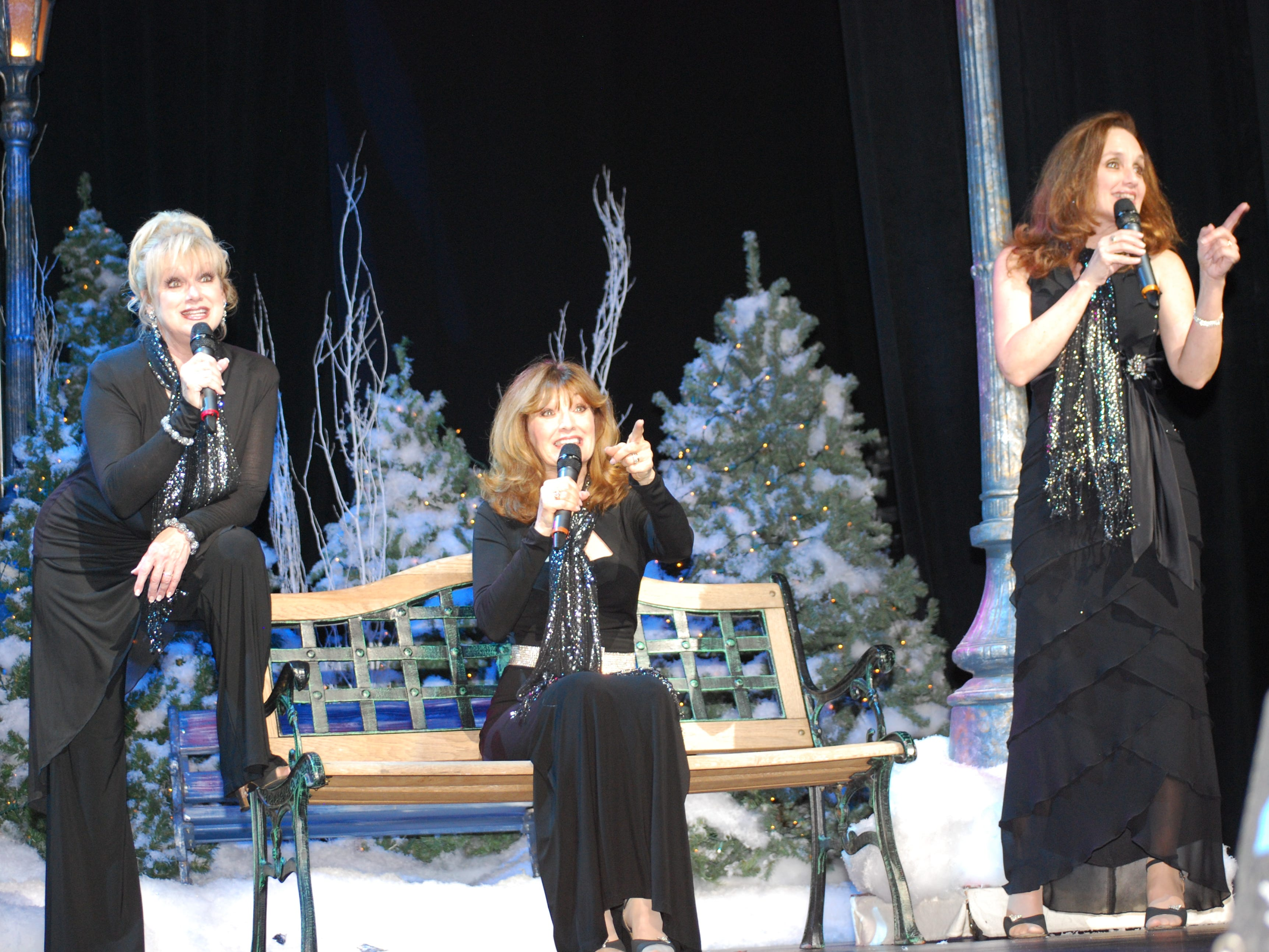 """The Lennon Sisters star in """"The Andy Williams Ozark Mountain Christmas Show"""" at the Andy Williams Performing Arts Center."""