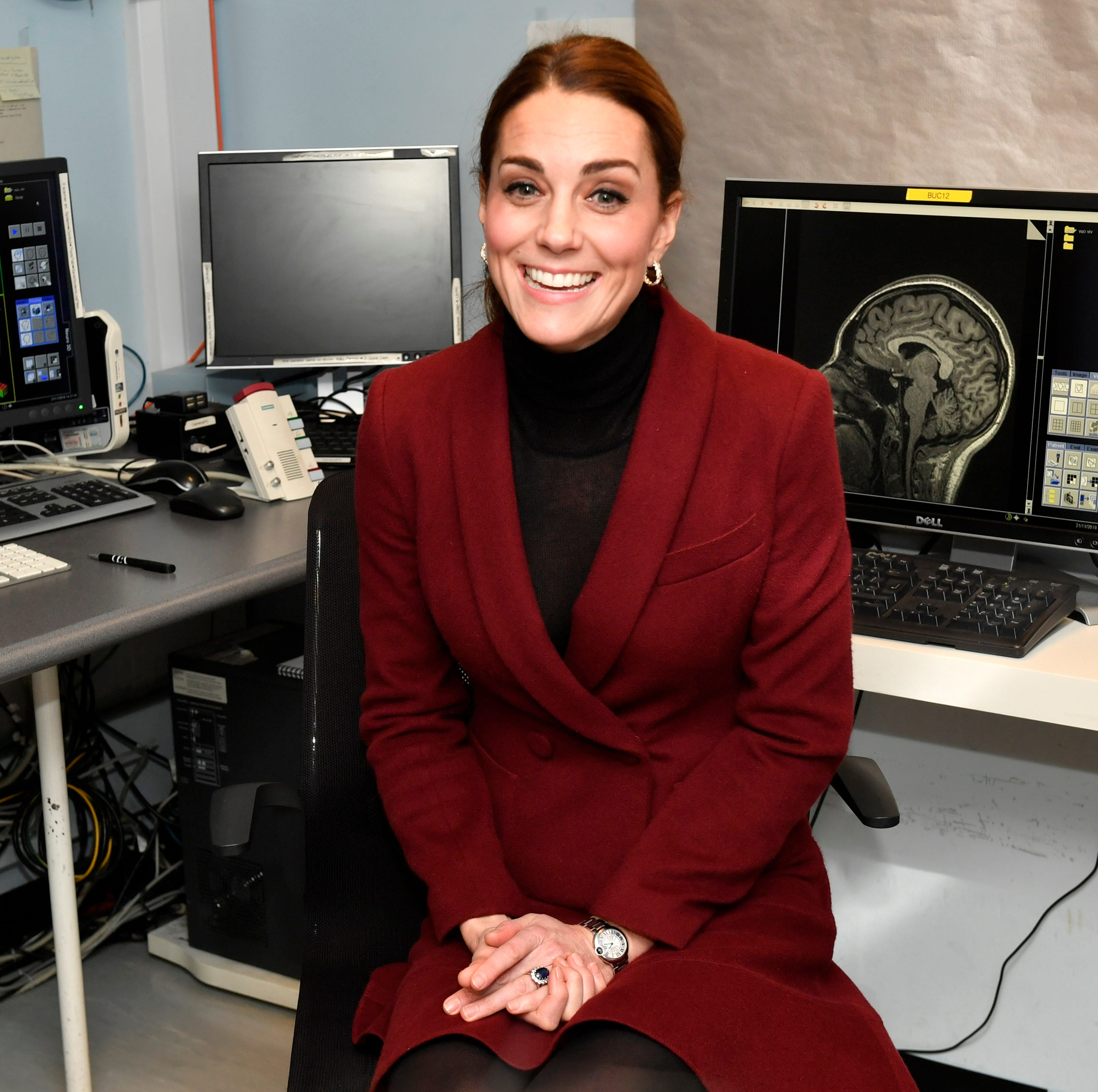 Duchess Kate suits up.