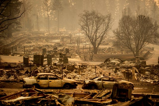 Ap Orthern California Wildfire A File Wea Usa Ca