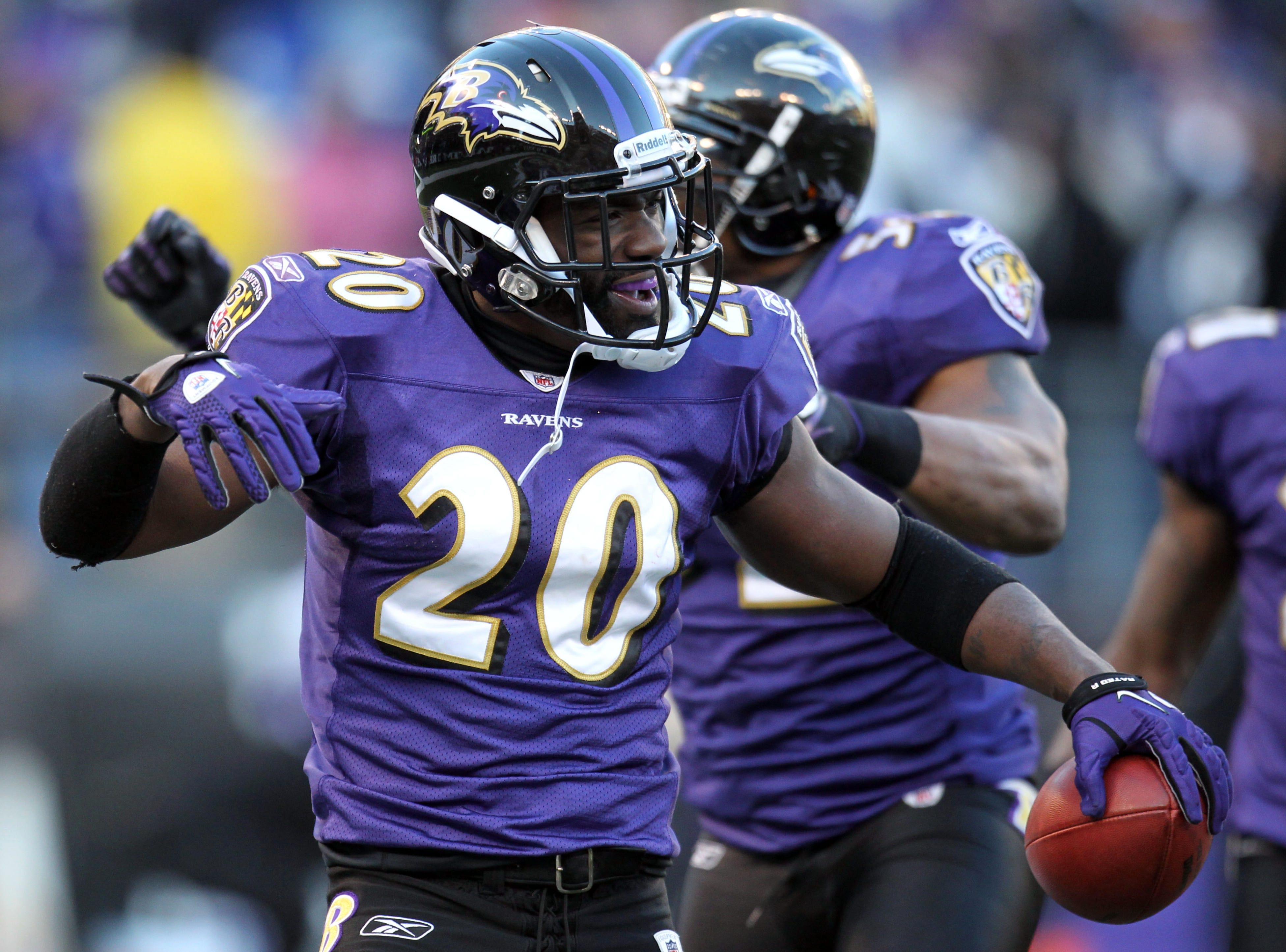 Ed Reed, FS – 2002-2012 Baltimore Ravens, 2013 New York Jets, 2013 Houston Texans