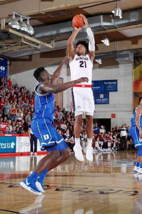 Usp Ncaa Basketball Maui Invitational Duke At Gon S Bkc Gon Duk Usa Hi