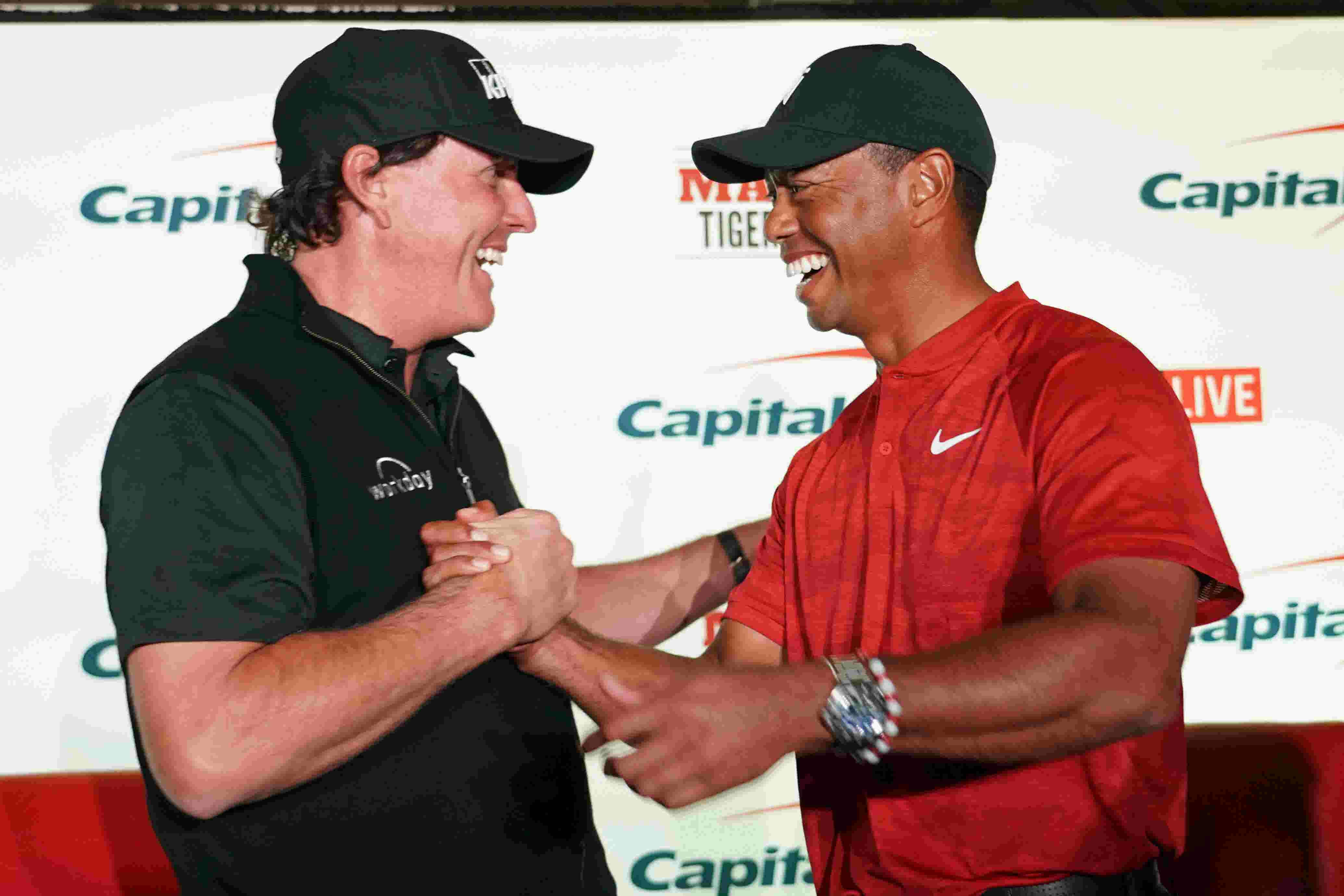 Spectacular stage set for The Match  Tiger Woods vs. Phil Mickelson at  Shadow Creek 230e028023c