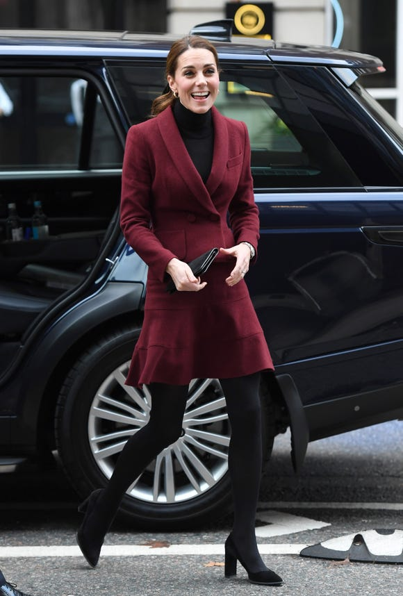 Duchess Kate's look on the same day.