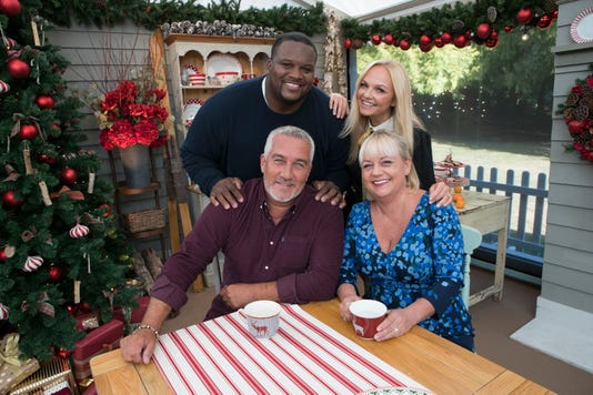 Anthony Spice Adams Paul Hollywood Emma Bunton Sherry Yard