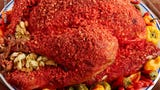 A hot Cheetos turkey recipe is stirring up more controversy than politics at the Thanksgiving dinner table.