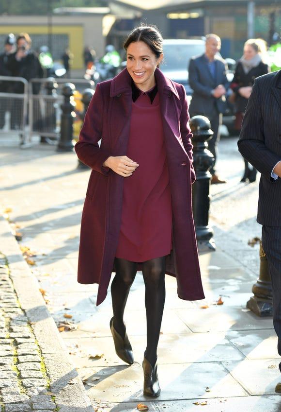 Duchess Meghan's #OOTD on Nov. 21.