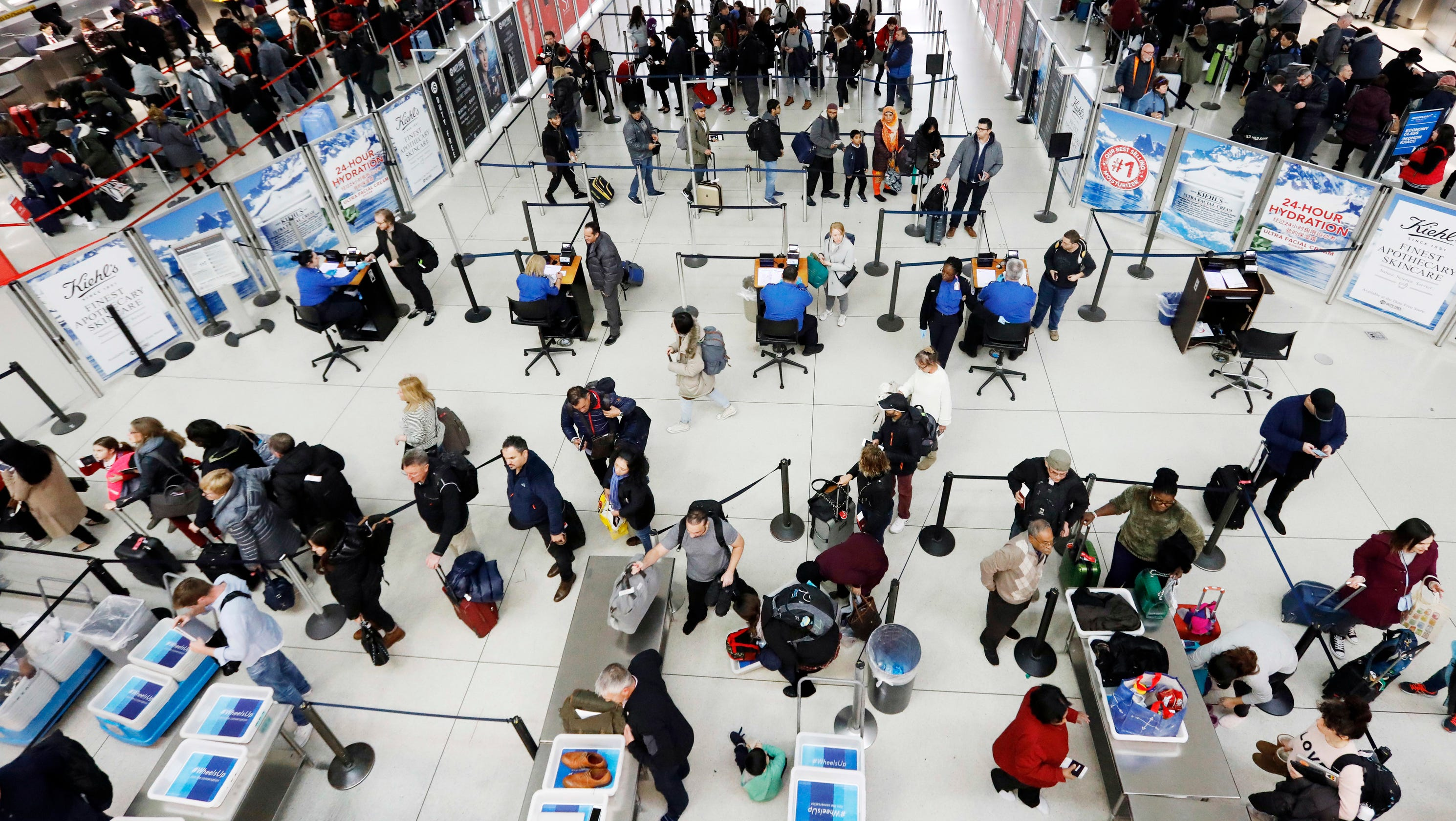 Weather a factor in some flight delays at New York-area airports