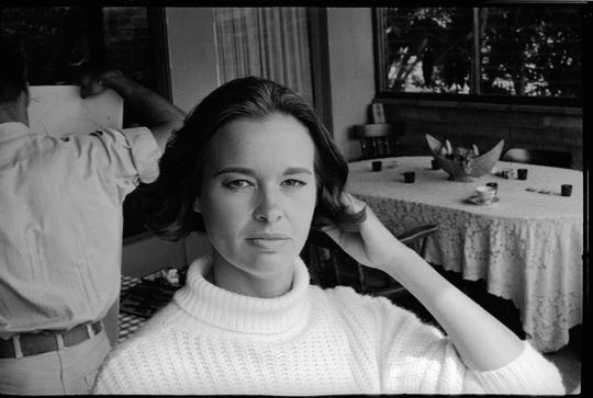 "Gloria Vanderbilt in HBO's ""Nothing Left Unsaid: Gloria Vanderbilt and Anderson Cooper,"" from 2016."
