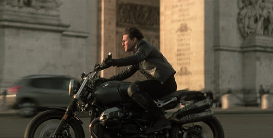"Tom Cruise returns as Ethan Hunt in ""Mission: Impossible - Fallout."""