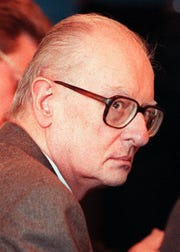 John List, the Westfield accountant serving five life serntences for murdering his family in 1971, was denied a request for a new trial in 1997. A state appeals court rejected the notion that the confession he left for his pastor after killing his family was privileged information.