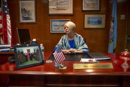 Virginia Haines is expected to become first woman to lead Ocean County's freeholders in 40 years.