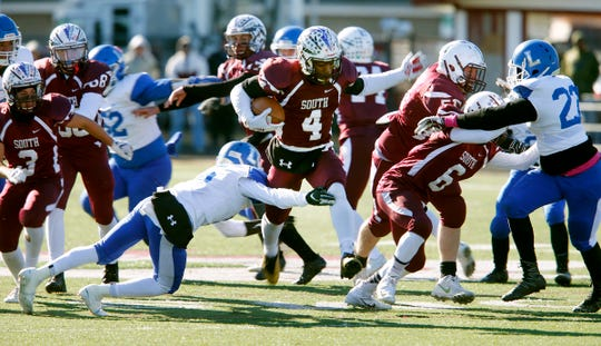 Toms River South made the playoffs last year with a losing record.