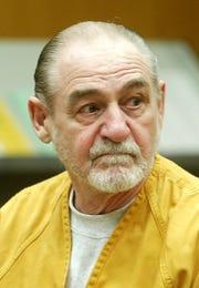 John Mabie appears in court in 2002.
