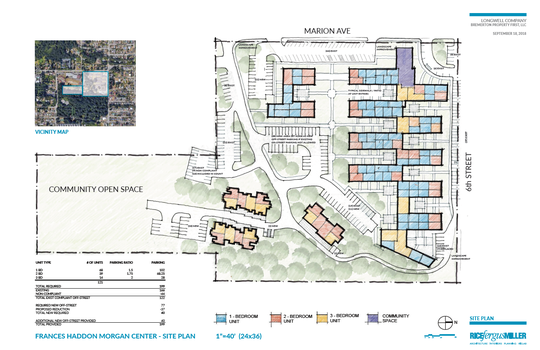 A 121-unit development of market rate apartments is planned for the former Frances Haddon Morgan Center.