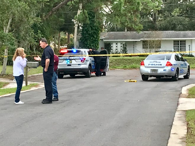 Police converged on a home Thursday morning on Carolina Avenue in Rockledge after a man was severely stabbed.