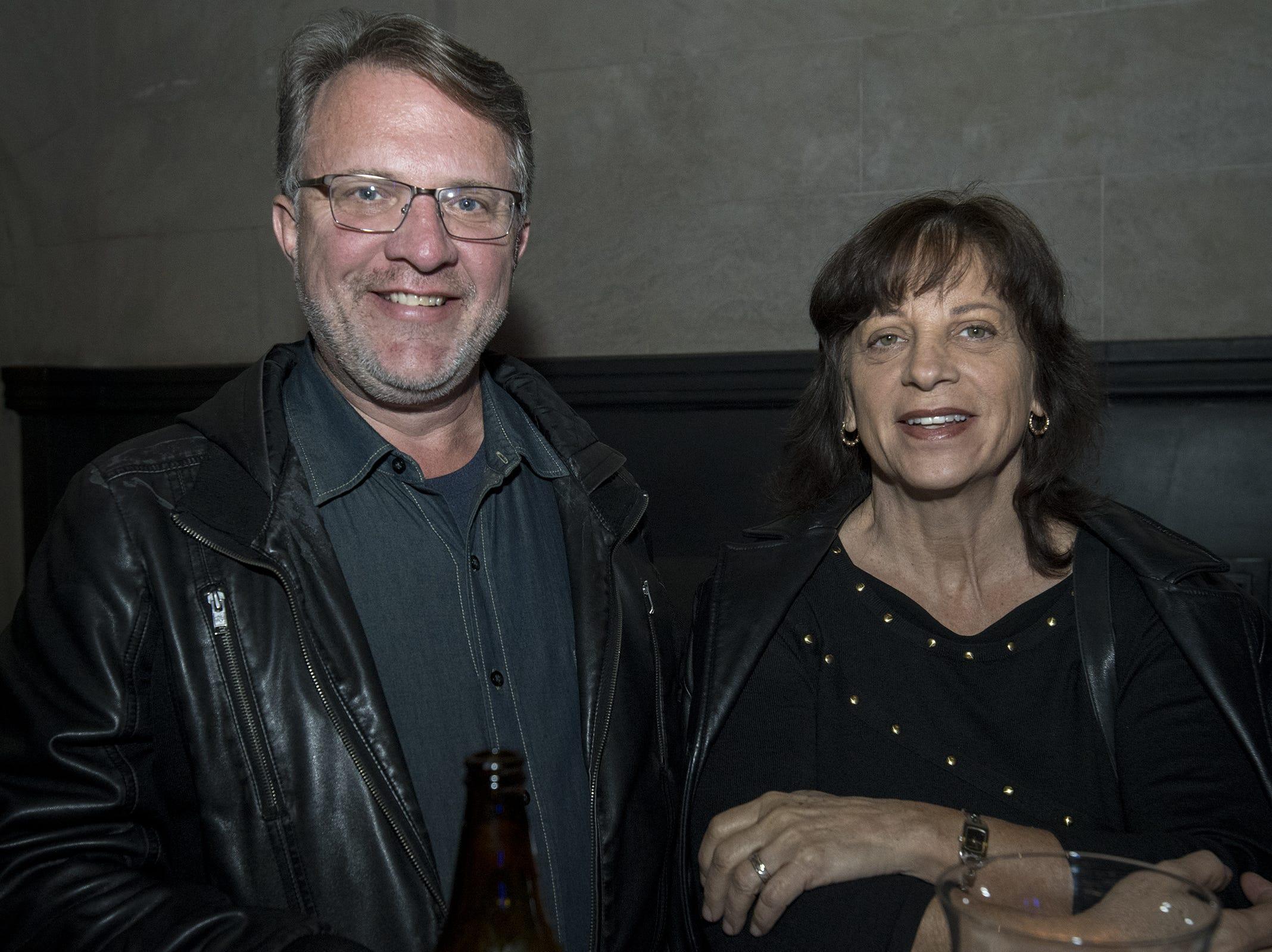 Cutoff and Margo of Tampa Bay attend Art After Dark at the Cincinnati Art Museum Wednesday, November 21, 2018 in Cincinnati, Ohio.