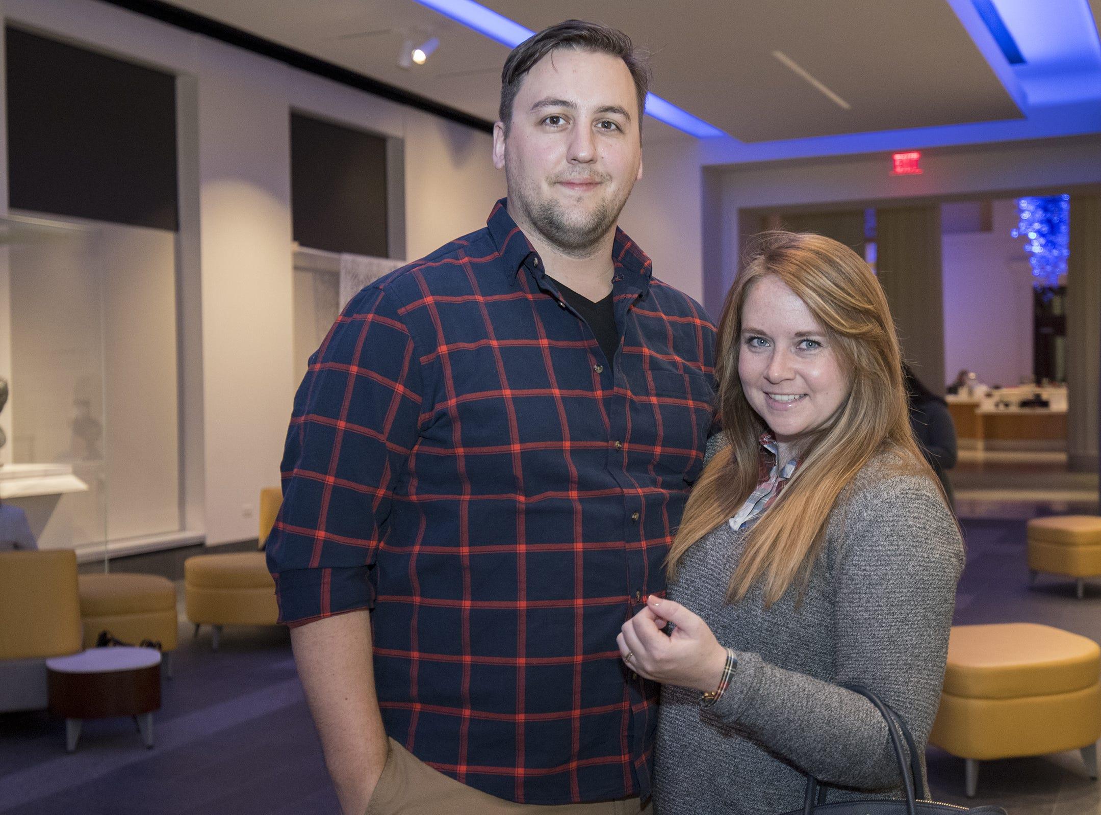 Dr. David and Elaine Cox of Mt. Adams attend Art After Dark at the Cincinnati Art Museum Wednesday, November 21, 2018 in Cincinnati, Ohio.