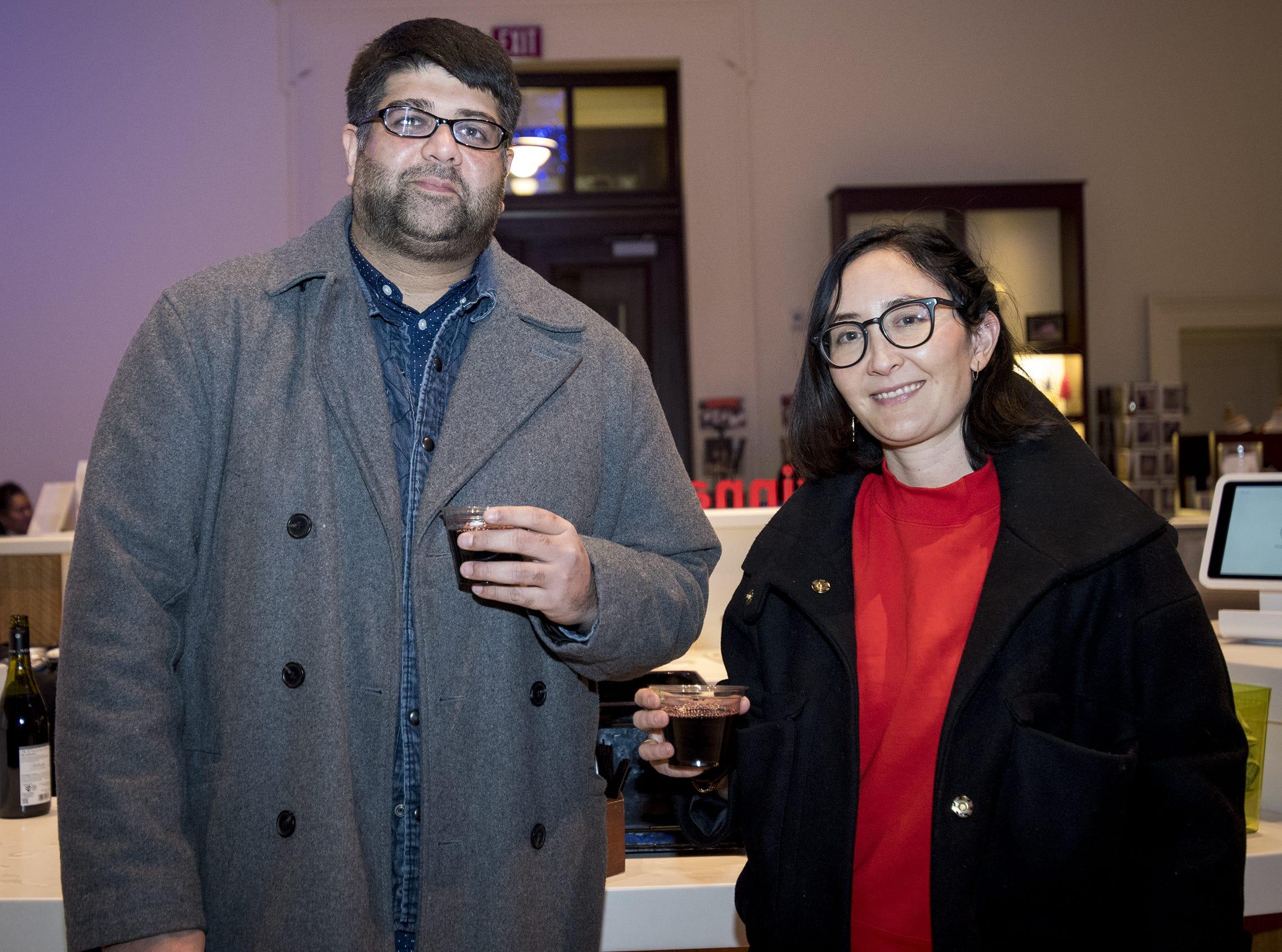 Bhavik Joshi and Angelique Clark attend Art After Dark at the Cincinnati Art Museum Wednesday, November 21, 2018 in Cincinnati, Ohio.